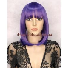 Парик 16003 тон Dark Purple фиолетовый с имитацией кожи