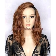 Парик на сетке Lace Wig Waves № 130E рыжий