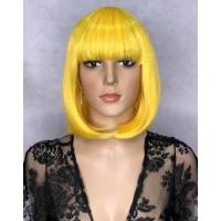Парик JOY-2 тон Yellow с имитацией кожи