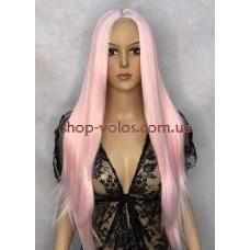 Перука на сітці Lace Wig Light Pink