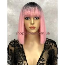 Перука LILY тон Ombre Pink з імітацією шкіри