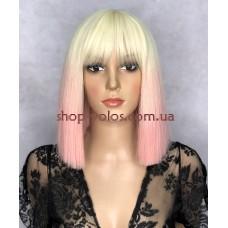 Перука LILY тон Ombre Blond з імітацією шкіри