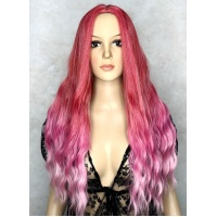 Парик LC 5001 ombre pink