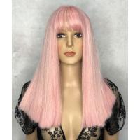 Парик LC 266 pink розовый