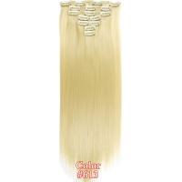 Набір тресс 7 шт № 613 блондин