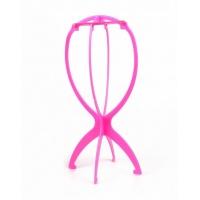 Подставка для парика розовый