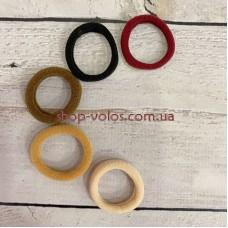 Резинка для волос велюровая 2,5 см