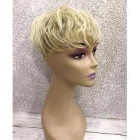 Челка-накладка гофре на макушку тон 105 пепельный блонд