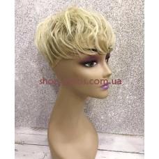 Чубчик-накладка гофре на маківку тон 105 попелястий блонд