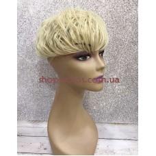 Чубчик-накладка гофре на маківку тон 107 блонд