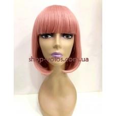 Перука  JOY-2 тон Pink Ash з імітацією шкіри