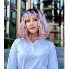 Парик бледно-розовый каре Gemma тон 4/AMBRS омбре