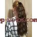 Шиньон гофре № 2-27 коричнево-золотистый мелированный