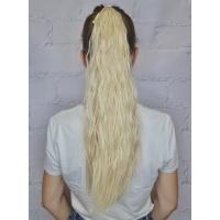 Шиньйон гофре № 22-613 пшенично-попелястий блонд