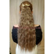 Шиньон гофре № 27-613 мелированный коричнево-русый блондин