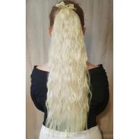 Шиньон гофре № 60-613 молочный блондин