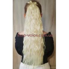 Шиньйон гофре № 60-613 молочний блондин