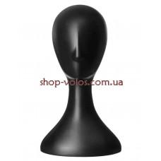 Пластиковая голова для парика цвет черный