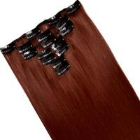 Набір тресс 7 шт № 350 темно бордово-рудий