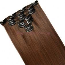 Набор тресс 7 шт № 4A-30 коричнево-золотистый