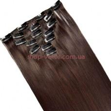 Набор тресс 7 шт № 4A-33 коричнево-бордовый