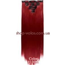 Набор тресс 7 шт № 130M красно-бордовый