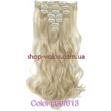Набор тресс 7 шт № 60-613k молочный блондин