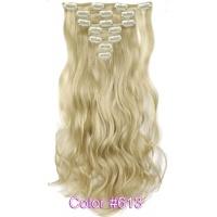 Набор тресс 7 шт № 613Ak блондин