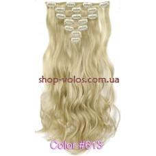 Набір тресс 7 шт № 613k блондин