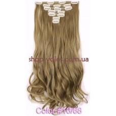 Набор тресс 7 шт № 16-68k пепельно-русый блондин