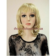 Парик мелированный блонд каре № 20034 тон 24BT613 с имитацией кожи головы