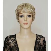 Парик № 2763 тон H16/613 мелированный пепельный блонд