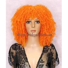 Перука афро помаранчева каре Afro Cool тон ORANGE