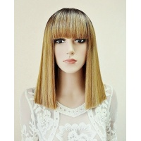 Перука AVRIL № 6-27 золотий блонд, омбре, термо