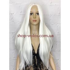 Парик на сетке белый длинный Lace Wig № 2358 тон 1001