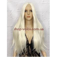 Парик на сетке молочный блонд длинный Lace Wig № 2358 тон 60