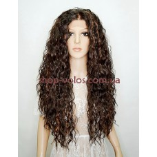 Парик на сетке Lace Wig Bess brown
