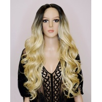 Парик на сетке Lace Wig Arika 4-613A блонд омбре