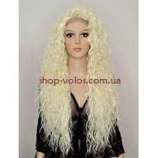Парик на сетке блонд длинный Lace Wig Bess тон 613