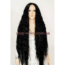 Парик на сетке Lace Wig Bohemian № 1B черный мягкий