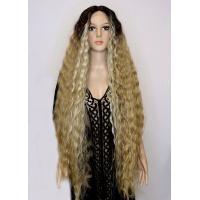 Парик на сетке Lace Wig Bohemian № 6-23-apric светло-коричневый омбре