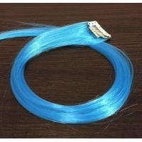 Прядь голубого цвета 4535