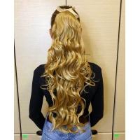 Шиньон кудрявый P0331 № 24B пшеничный блонд