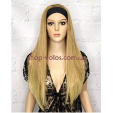 Перука на пов'язці лляний блонд довга тон 27T613 70 см