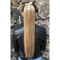 Шиньйон прямий № 27-613 пшенично-русявий блонд