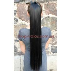 Шиньон 75 см № 2 черно-коричневый