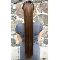 Шиньон 75 см № 2-30 коричнево-золотистый