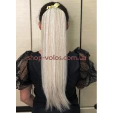 Шиньон прямой № 24-60 светло-пепельный блонд