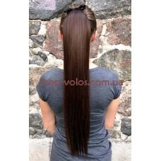 Шиньйон прямий № 4-33 коричнево-бордовий