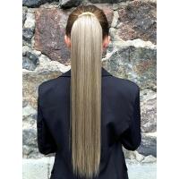 Шиньйон прямий № 68-613 попелясто-русявий блонд